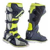 X-PRO V BOOTS GREY & YELLOW FLUO